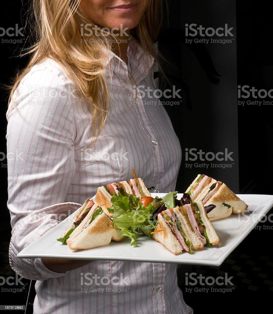 Midnight sandwich royalty-free stock photo