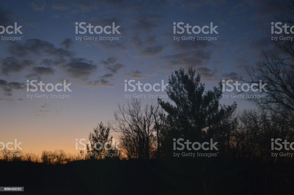 MidNight Skies stock photo
