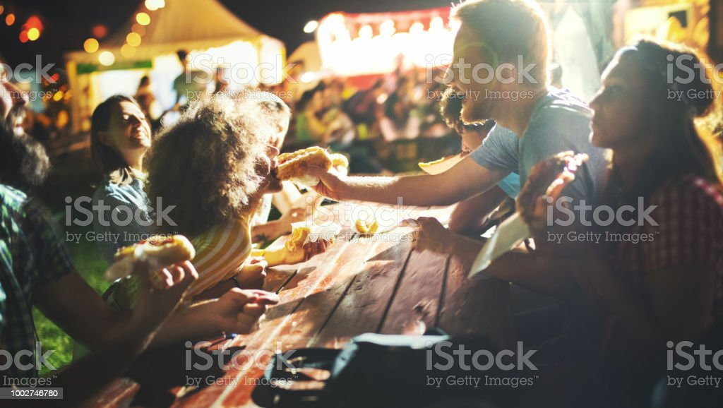 Midnight snack. stock photo