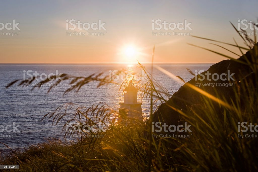 Midnight Sun in Lofoten royalty-free stock photo