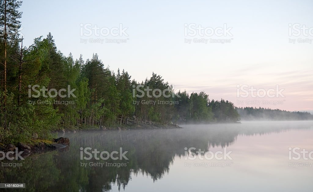 Midnight Sun stock photo
