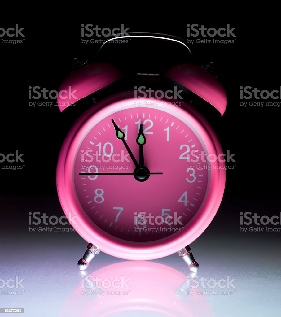 Midnight time royalty-free stock photo