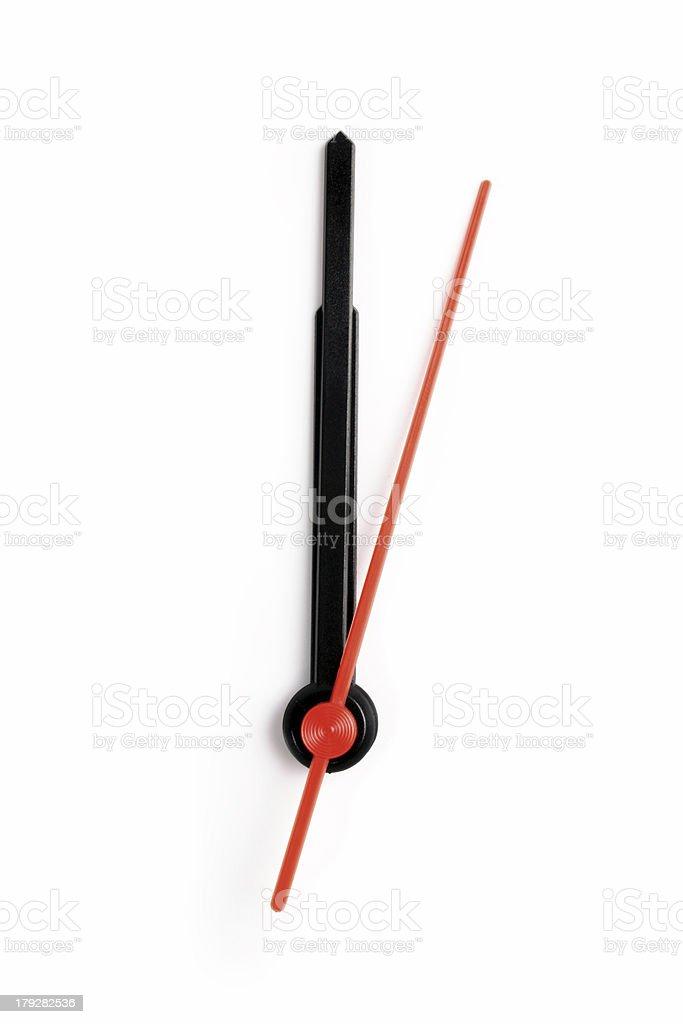 Midnight/Noom - Twelve o'clock royalty-free stock photo