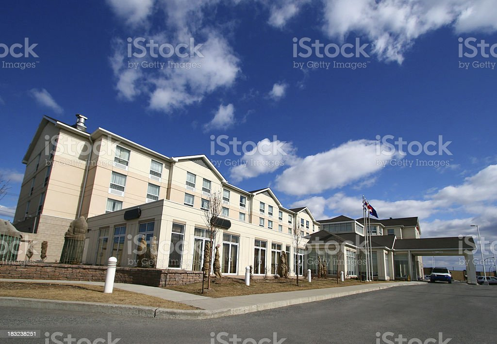Midsize Luxury Hotel stock photo