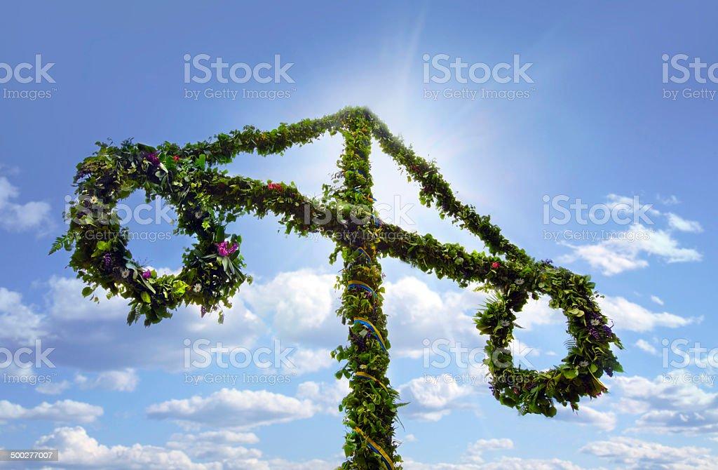 .Midsummer celebrations stok fotoğrafı
