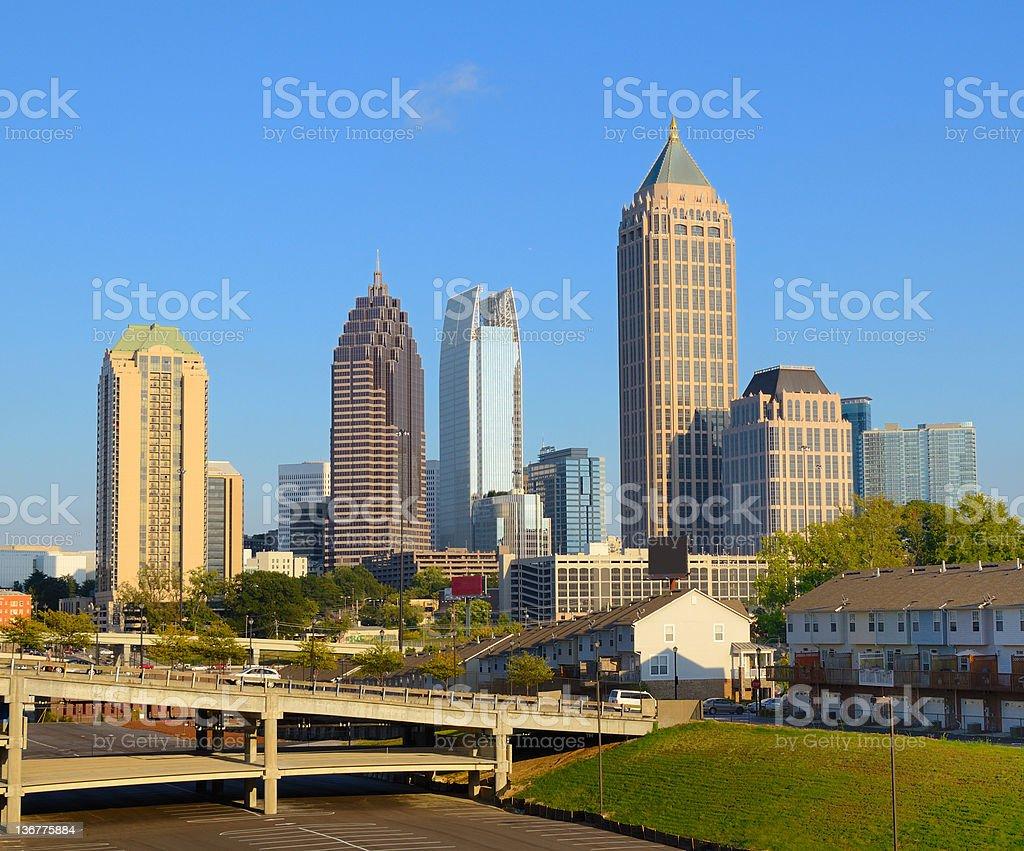 Midtown Atlanta stock photo