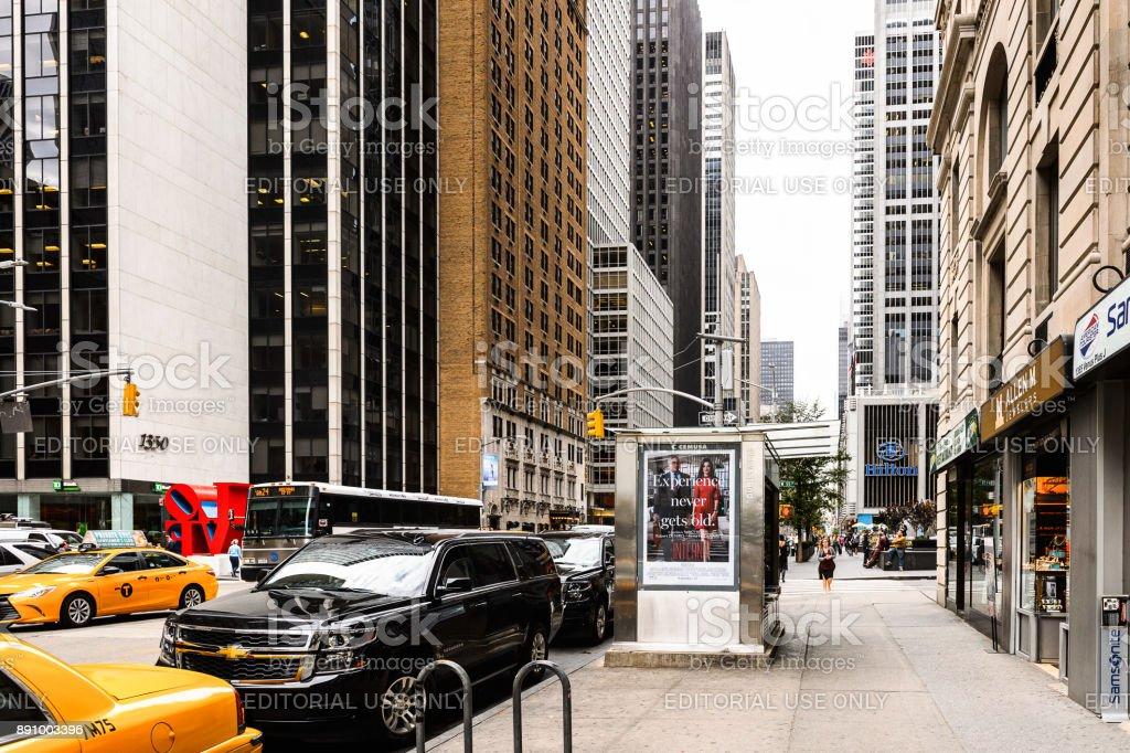 Midtown Manhattan, New York City stock photo