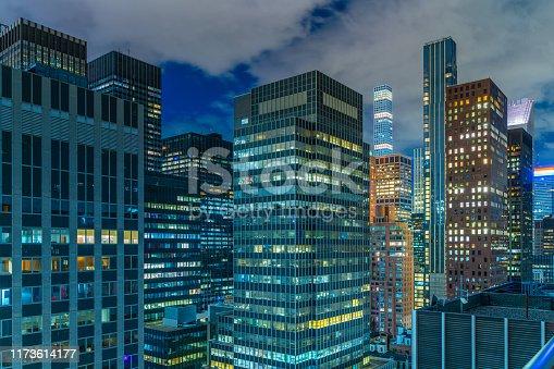 Midtown Manhattan New York, USA