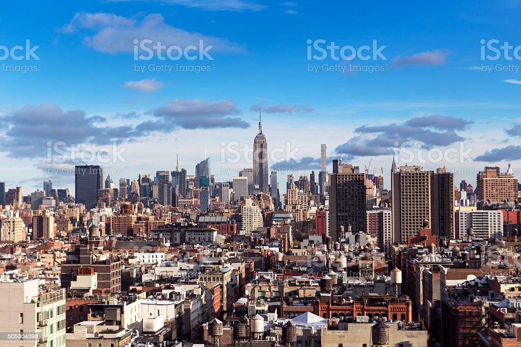 Midtown New York City stock photo