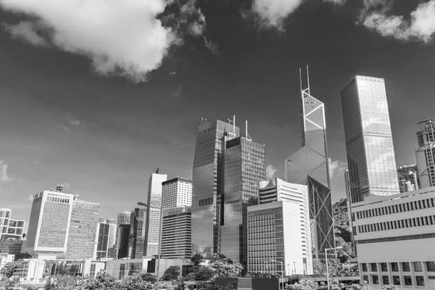 Midtown of Hong Kong city – Foto