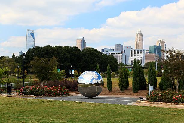 Midtown Park Ball Sculpture