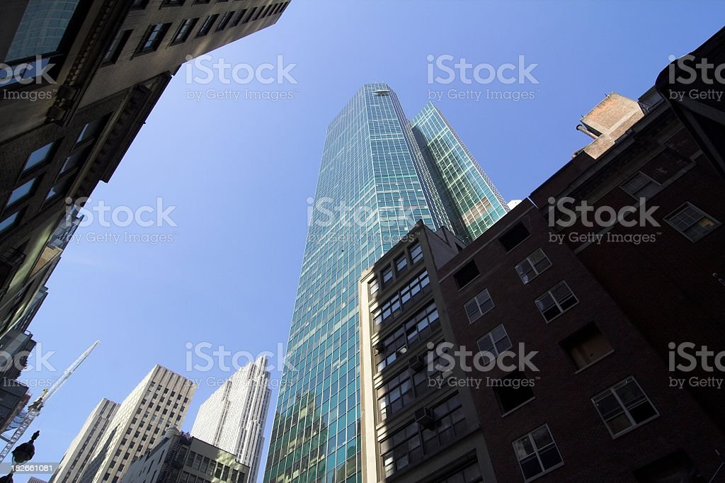 Midtown Towers royalty-free stock photo