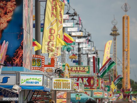 Midway at State Fair