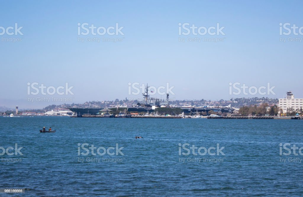 USS Midway Museum - Royalty-free Aircraft Carrier Stock Photo