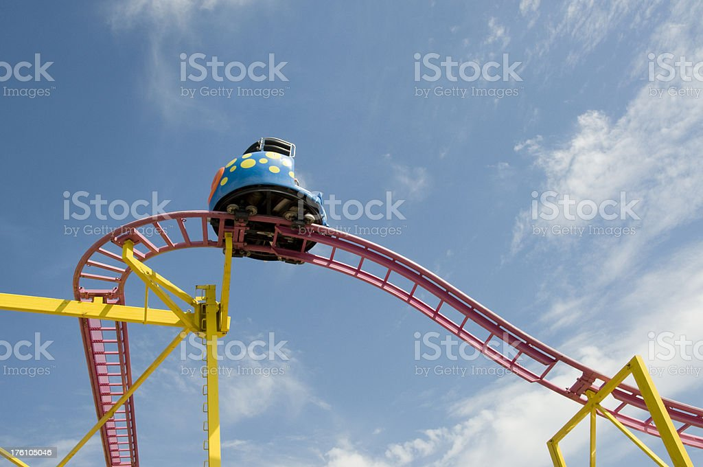 Midway Wild Mouse stock photo