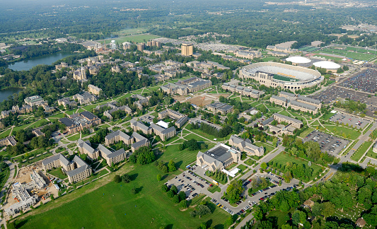 istock Midwestern American university 172342404