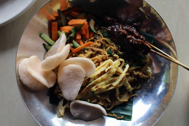 Mie Goreng. Eine andere indonesische Nationalgericht – Foto