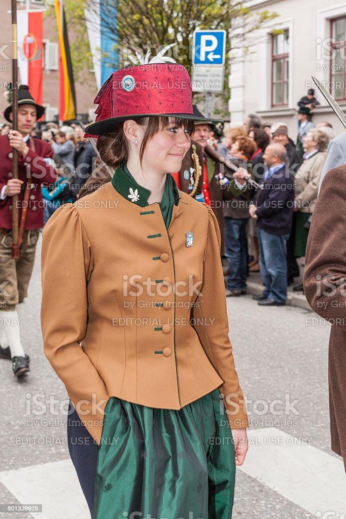 Frau aus Miesbach