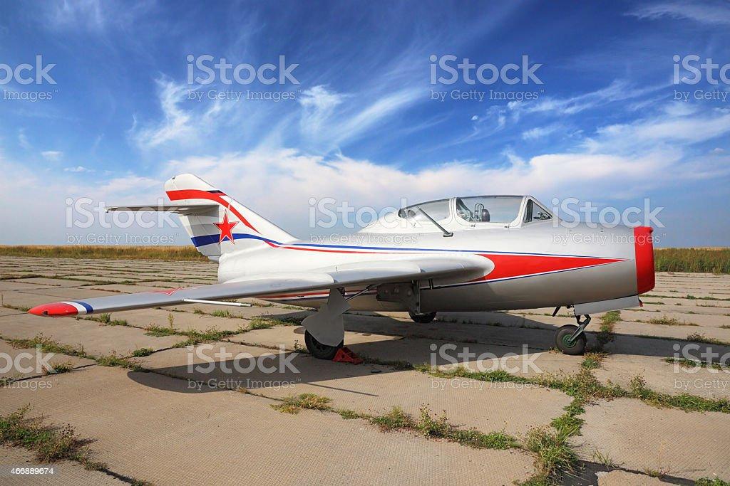 MiG-15 stock photo