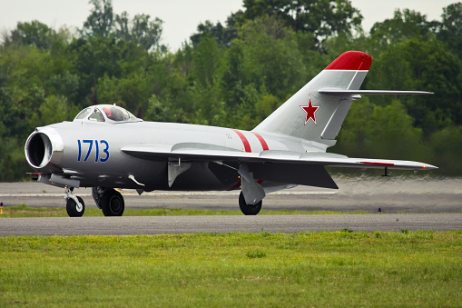 Mig17 Taxing Stock Photo - Download Image Now - iStock