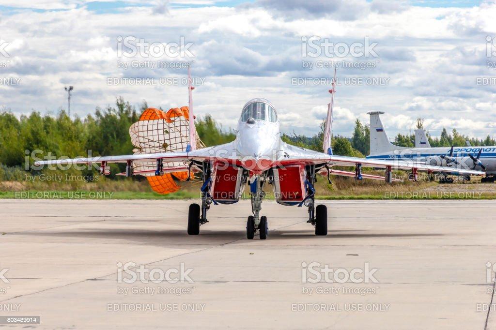 MiG-29 stock photo