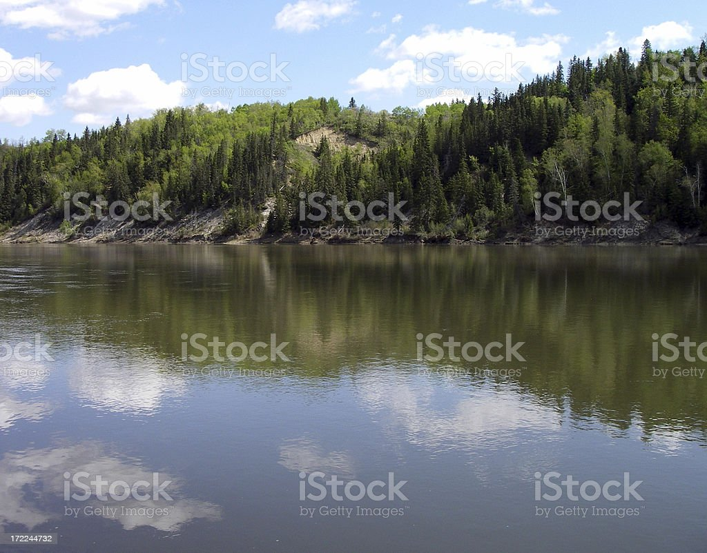 Mighty River stock photo