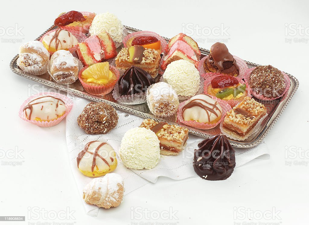 Pasticcini mignon royalty-free stock photo