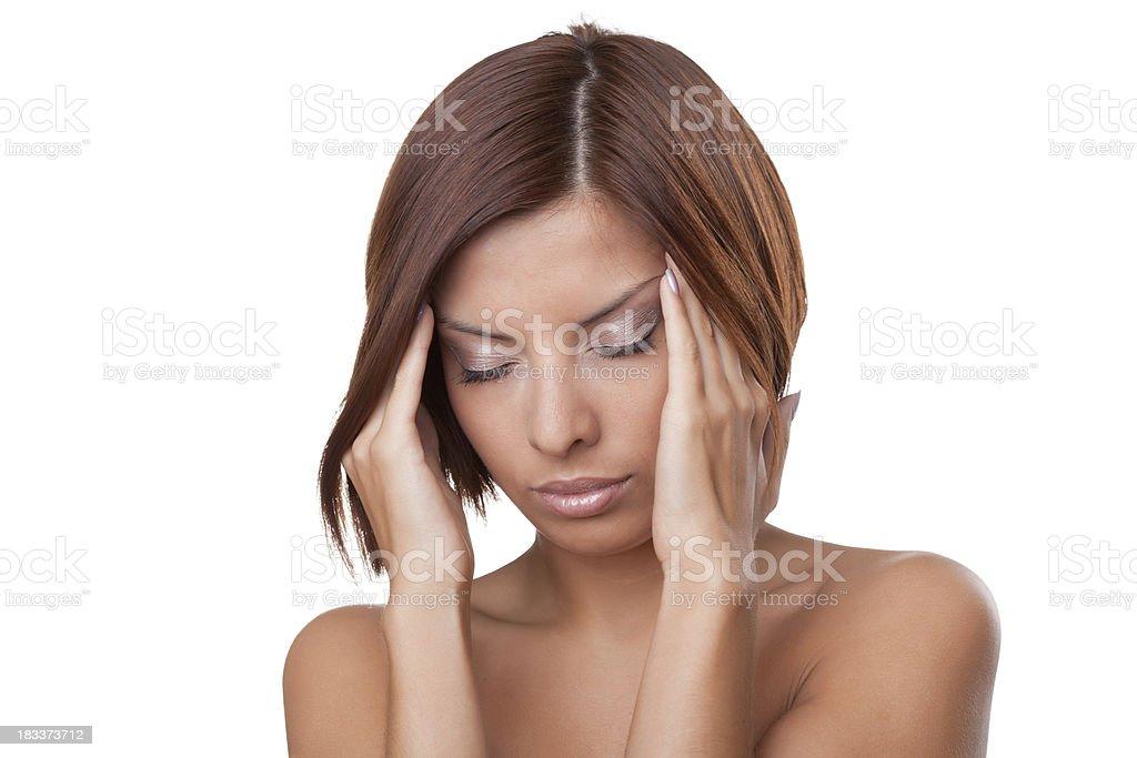 migraine royalty-free stock photo