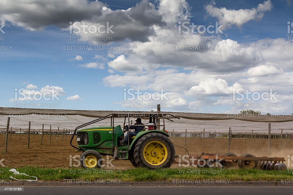 Migrant Farm Worker royalty-free stock photo