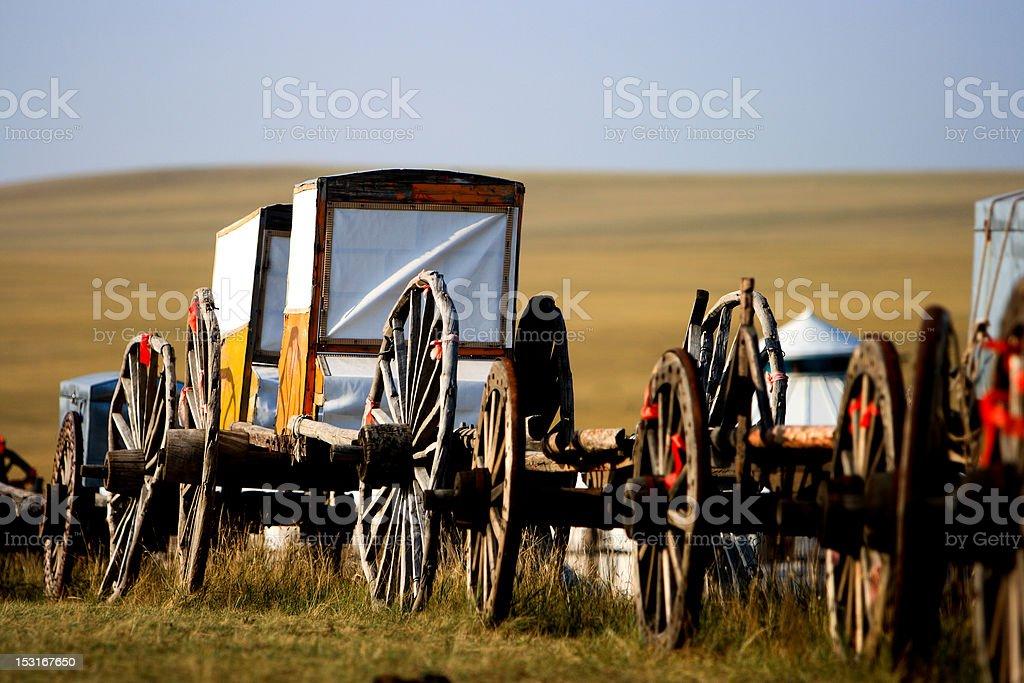 Migration Transport royalty-free stock photo