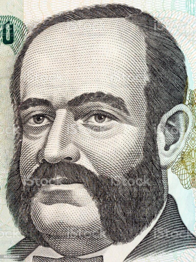 Miguel Grau Seminario portrait royalty-free stock photo