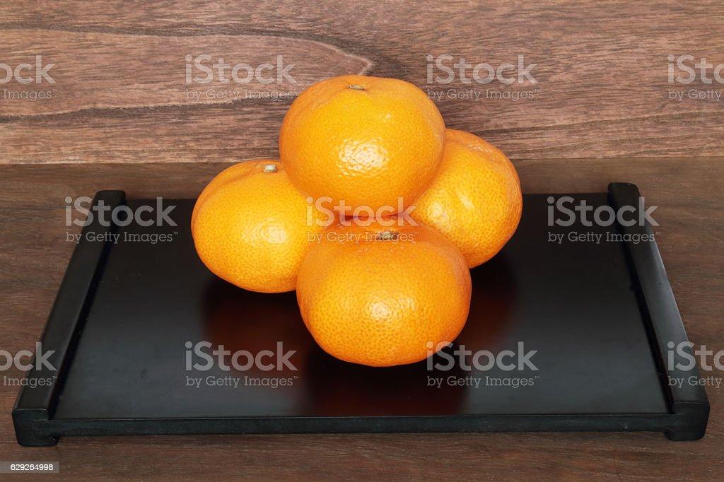 Mikan stock photo