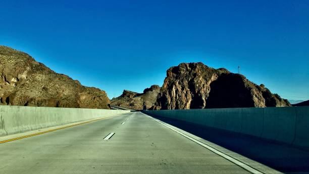 mike o'callaghan pat tillman memorial bridge road trip '20 samuel howell stock pictures, royalty-free photos & images