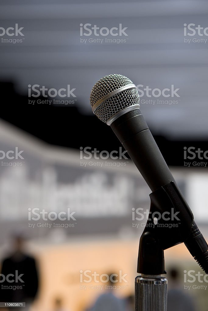 Mike royalty-free stock photo