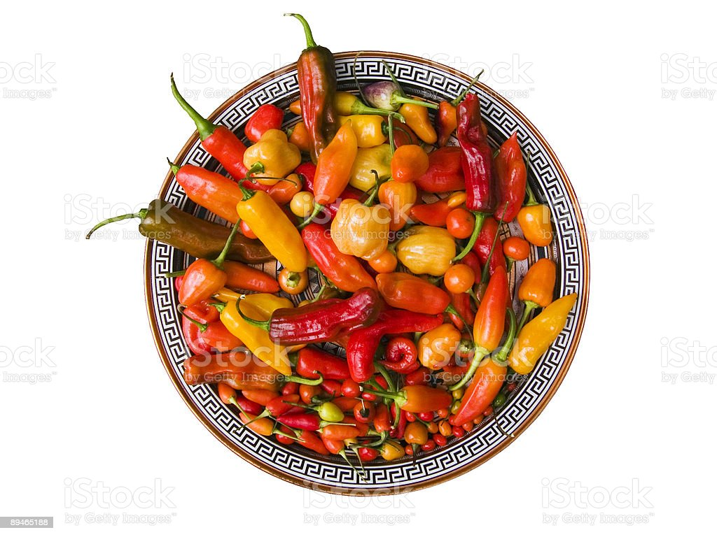 Mike's Peppers royalty-free stock photo