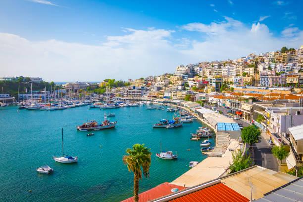Mikrolimano Hafen und Yachthafen Marina, Piraeus, Griechenland – Foto