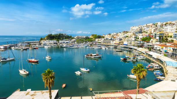 Mikrolimano Hafen in Piräus, Athen, Griechenland – Foto