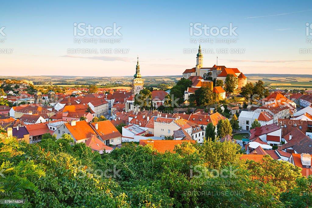 Mikulov, Czech Republic. stock photo