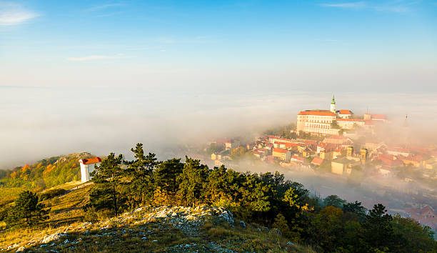 Mikulov, Moravia, Czech Republic stock photo