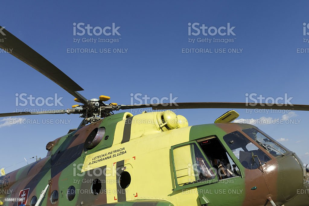 Mil Mi-17 helicopter royalty-free stock photo