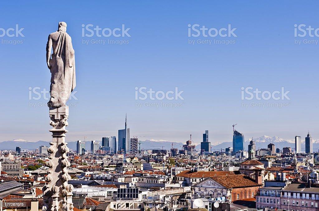Milan, 2012: new skyline royalty-free stock photo