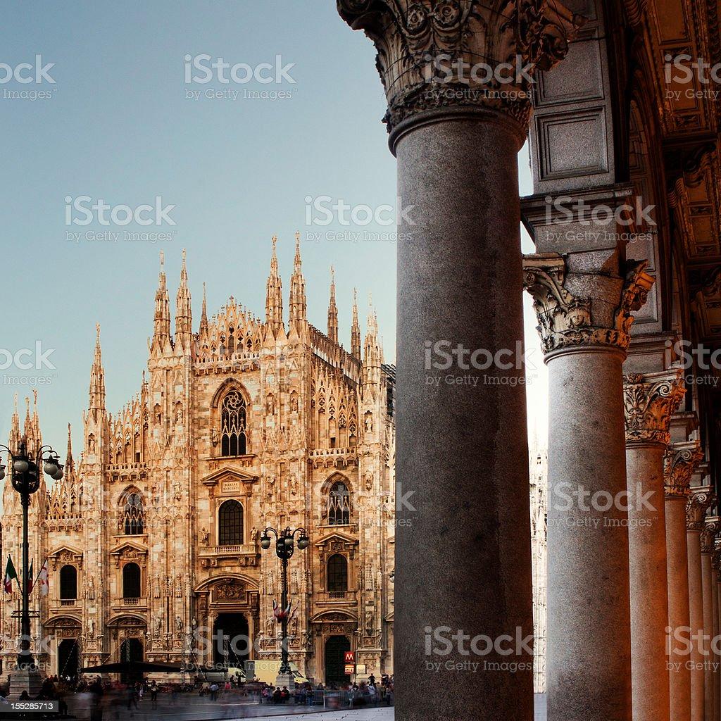 Milan Cathedral, Italy royalty-free stock photo