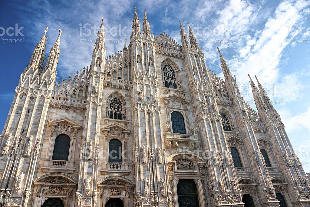 Milan Cathedral. Italy. royalty-free stock photo