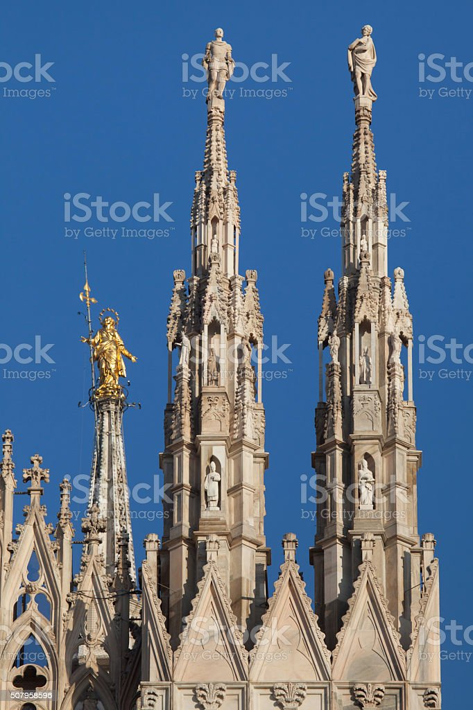 Milan Cathedral, Lombardy, Italy. stock photo