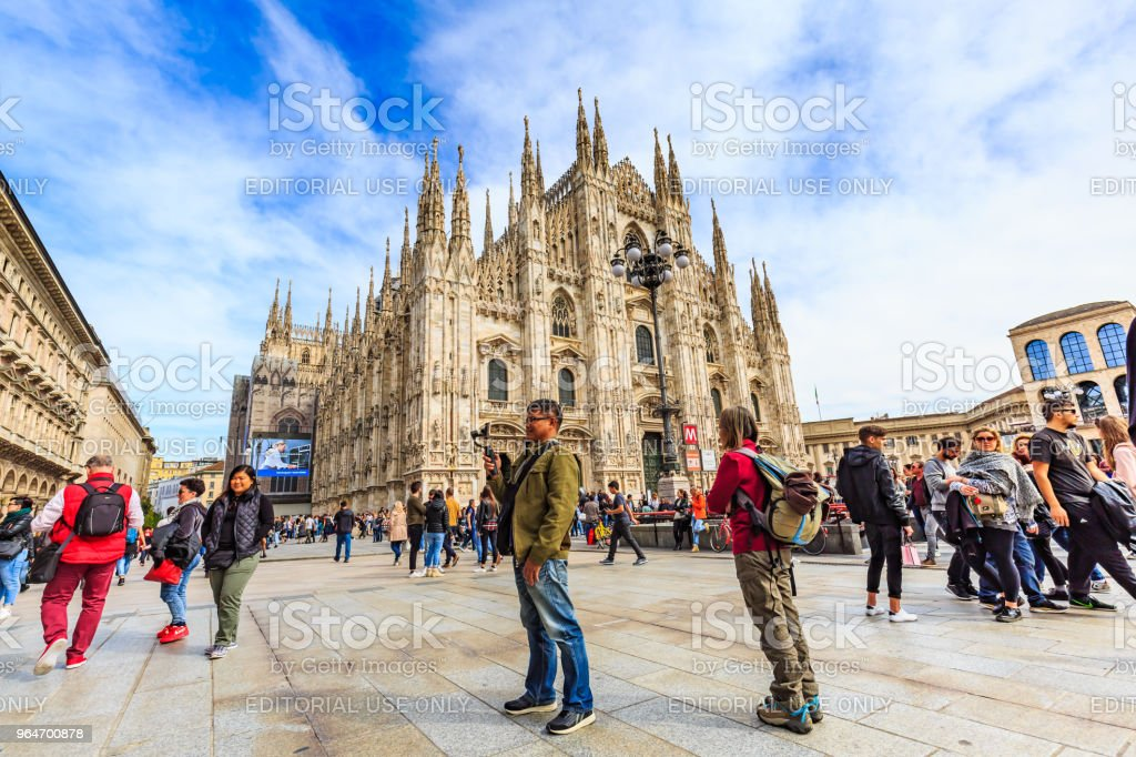 Milan Cathedral or Duomo di Milano royalty-free stock photo