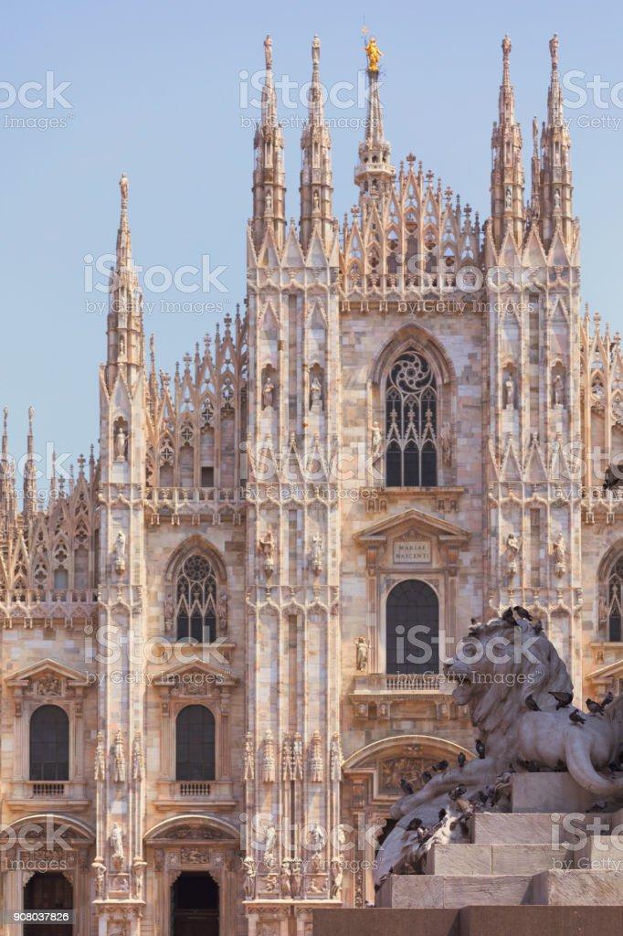 Mailänder Kathedrale - Lizenzfrei Architektur Stock-Foto
