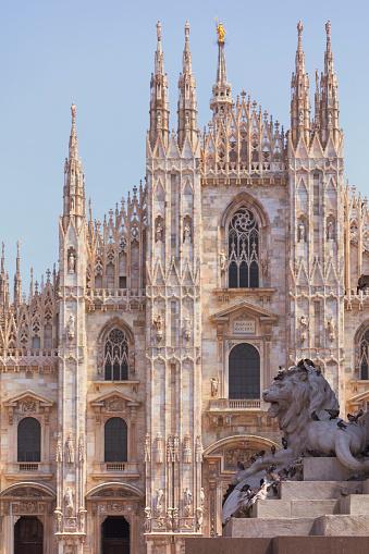 Mailänder Kathedrale Stockfoto und mehr Bilder von Architektur