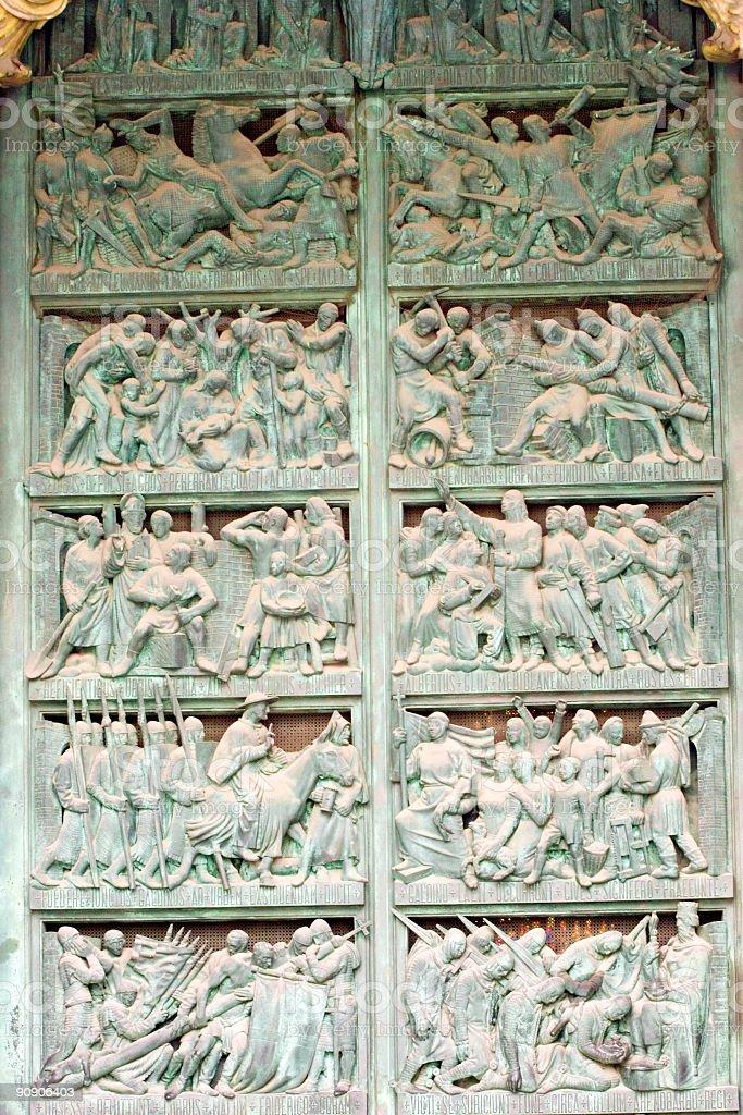 Milan Cathedral royalty-free stock photo