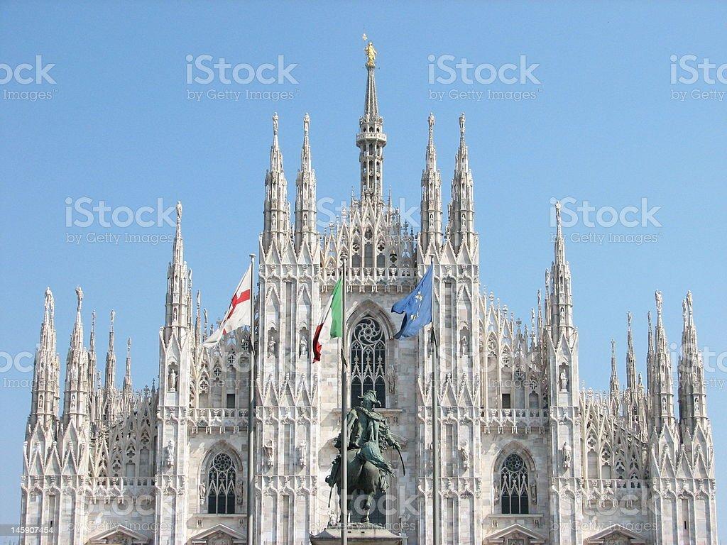 Milan Chatedral royalty-free stock photo