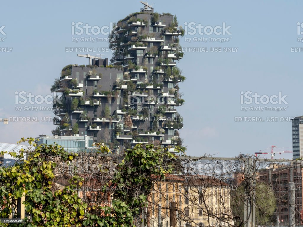 Milan, Italy: Bosco Verticale - foto stock